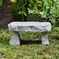 Mini Granite Bench