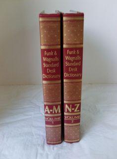 Funk & Wagnall's Standard Desk Dictionary College Language Study, School Ready   #DeskDictionary