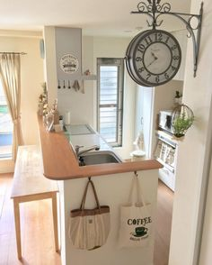 Decor Crafts, Home Decor, Kitchen Dining, Corner Desk, My House, House Design, Interior Design, Furniture, Houses