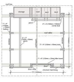 Chicken coop plan