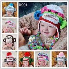 2013 recém-chegados engraçado handmade crochet bebê meninas chapéu animal coruja hootabelle recém-nascido chapéu adereços foto-Chapéus e Bon...