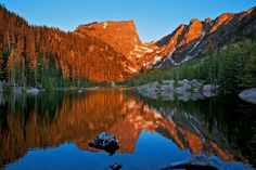 Dream Lake - Rocky Mountain National Park Five Colorado lakes you probably never knew exsisted | The Denver City Page