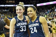 bf084fd8dce UConn's Katie Lou Samuelson, left, and Napheesa Collier were named to the  AP All