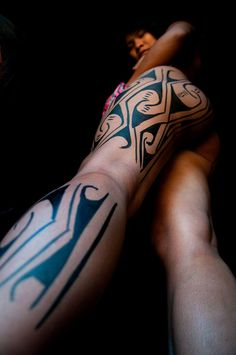 Body paint - Brazilian indigenous girl
