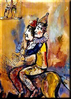 Autor de obras em que sobressai a fantasia, Chagall é considerado um dos pintores mais célebres e importantes do século 20. Após ter es...