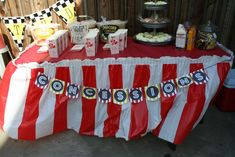 Backyard Drive-in Movie featuring CARS Birthday Party Ideas | Photo 1 of 15 | Catch My Party