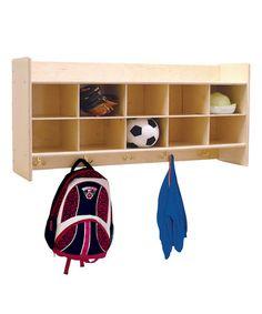 Look at this #zulilyfind! Contender™ 10-Compartment Wall Locker #zulilyfinds