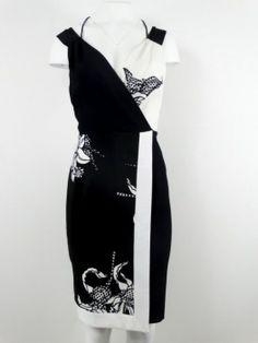 couture4less - MARIA GRAZIA SEVERI Luxus Kleid Original Gr.40