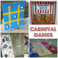 Simple Carnival Games for Kids