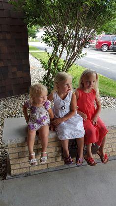 Shane's 3 girls