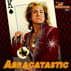 #SteveCarell is #Abracatastic in #BurtWonderstone @Warner Bros. Entertainment