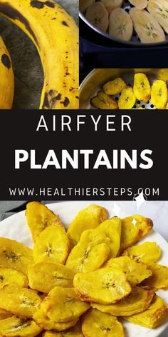 Prepare Air Fryer Plantains and cut back on the calories that are in traditional fried plantain. Sweet, plump and delicious plantains slices are the perfect low-calorie side dish or snack. Low Calorie Sides, Fried Plantain, Best Dinner Recipes, Air Fryer Recipes, Soul Food, Food Videos, Sweet Potato, Side Dishes, Healthy Eating