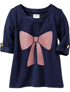 Glitter-Graphic Tunic Tops for Baby | Old Navy Hannah, Sasha and Audrey? 2T, 3T and 4T