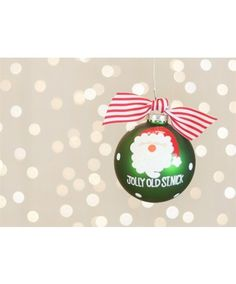 Coton Colors Jolly Old St. Nick Ornament