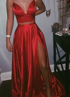 Prom dresses under Satin evening dresses, Elegant dresses, Piece prom dress, Satin prom dress, Prom outfits - inch (end of arm) Delivery time this cost is paid for prior shippi - Prom Dresses Under 100, Prom Dresses Two Piece, Komplette Outfits, A Line Prom Dresses, Grad Dresses, Women's Dresses, Summer Dresses, Wedding Dresses, Fancy Prom Dresses