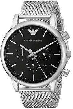 Men's Wrist Watches - Emporio Armani Mens AR1808 Dress Silver Watch *** Want to know more, click on the image. (This is an Amazon affiliate link)