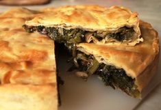From the great culinary tradition of the Campania region, a rustic and tasty dish Puff Pastry Recipes, Pizza Recipes, Dinner Recipes, Quiches, Good Food, Yummy Food, Tasty, Escarole Recipes, Italian Fig Cookies