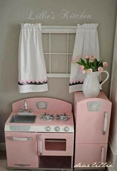 Cocina rosa niña niño juego cocinar