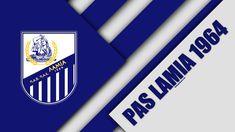 Pas Lamia FC of Greece wallpaper. Greece Wallpaper, Logos, Football Wallpaper, Desktop Pictures, Material Design, Football Players, Volleyball, Sport, Club