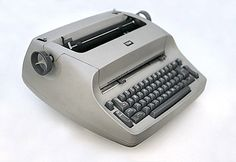 The typewriter.  Technology has come a long way.
