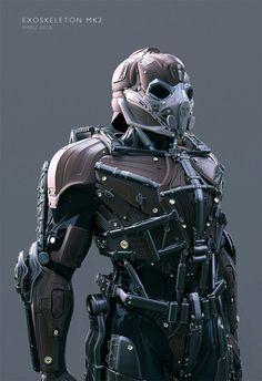 Combat Suit, Combat Armor, Suit Of Armor, Body Armor, Fantasy Armor, Sci Fi Fantasy, Cyberpunk, Zbrush, Gundam