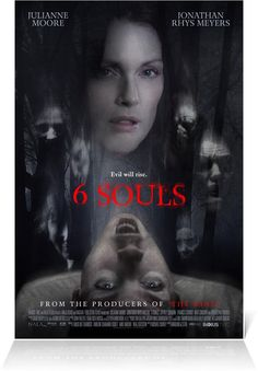 6 Souls (2.5 stars) This psychological thriller is way too long and loses all touch with reality at some point. A psychiatrist who doesn't believe in multiple personality disorder is brought in on a case by her psychiatrist father to change her way of thinking. It starts off well, but devolves into a morass of witchcraft and sound waves taking physical form and lost my interest. The ending is simply too unbelievable.