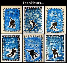 Le Journal de Chrys: Nos skieurs