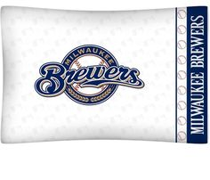 san francisco b062b 40944 Milwaukee Brewers MLB Pillow Case Mlb Teams, Milwaukee Brewers, Pillow  Cases, Team Logo