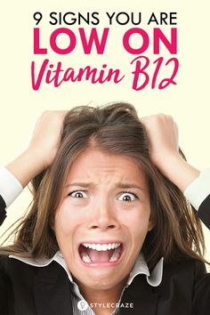 9 Signs You Are Low On Vitamin B12 #nutrition #vitamin #b12 #health #wellness