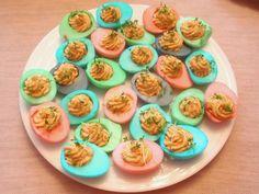Tieto vajíčka som robila na túto veľkonočnú párty . No nie sú krásne? Ja som z nich mala neskutočnú radosť!!!
