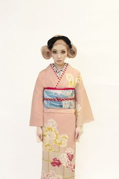 Fashion show of our fake Suites Kesen Erika. Tsurezure from the park and toughness of Takashima Dali Hair Design