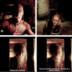 Felicity & The Flash #Arrow #MyNameIsOliverQueen