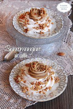 Biancomangiare al caffè | ricetta dolce al cucchaio