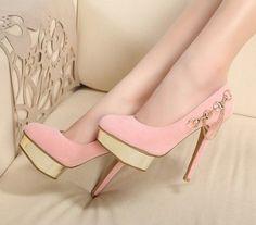 Fabulous pink heels