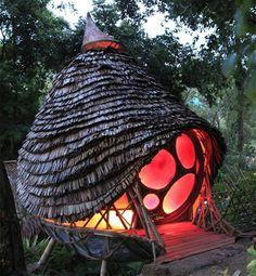 Six Senses Thailand Children Treehouse play design bamboo manta ray resort
