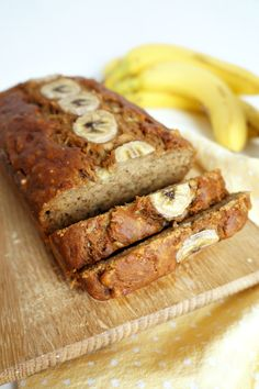 Vegan Banana Bread- yummy and easy! Would be extra good with some added walnuts and chocolate chips.
