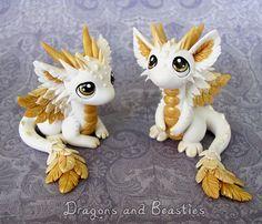 Baby Angel Dragons by DragonsAndBeasties.deviantart.com on @DeviantArt