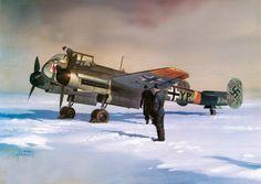 Arado Ar-240 by Arkadiusz Wróbel