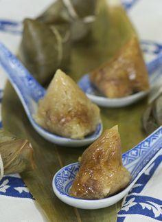 Indonesian Medan Food: Mini Ayam Bak Cang ( Medan Style Zong Zi )