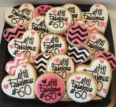 Sugar Cookies! Someone is turning 60!