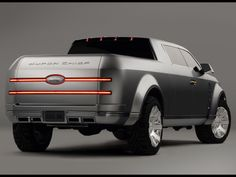 Ford F-250 Super Chief Concept. Even though it's a ford it still looks pretty sweet.