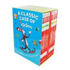 A Classic Case Of Dr Seuss Collection - 20 Book Box Set by Dr Seuss | Cheap Children's Book Collections at The Works
