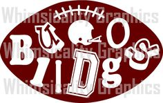 This product is a compressed zip of digital files (SVG, DXF, PNG) of our Mississippi Bulldogs Collegiate Football graphic. This zip file is