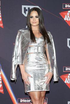Demi Lovato at the iHeartRadio Music Awards 2017