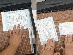 Trim DIY preppy wedding invitations | Download & Print