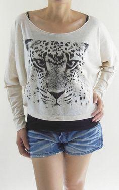 Cheetah Shirt Tiger Shirt  Cheetah TShirt Tiger by panoTshirt, $24.00