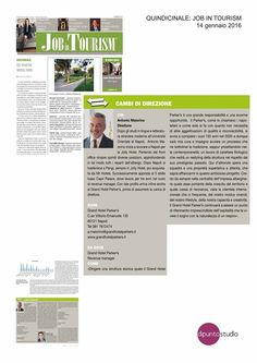 """Sul #magazine JOB IN TOURISM si parla del nostro direttore nell'ambito della rubrica """"Cambi di direzione"""" Oriental"""