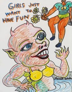 daniel johnston - girls just want to have fun