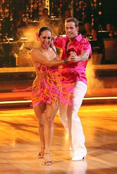"William Levy, actor and Season 14 contestant on ""Dancing With the Stars,"" with partner Cheryl Burke."