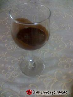 Λικέρ σοκολάτας 2 #sintagespareas Marmalade, Wine Decanter, Red Wine, Liquor, Barware, Alcoholic Drinks, Spices, Herbs, Homemade